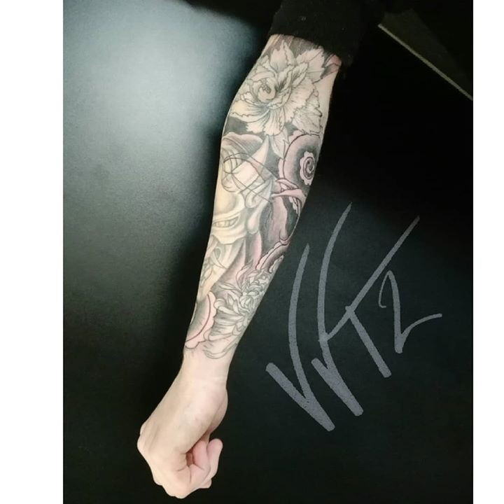 Full sleeve in progress  …