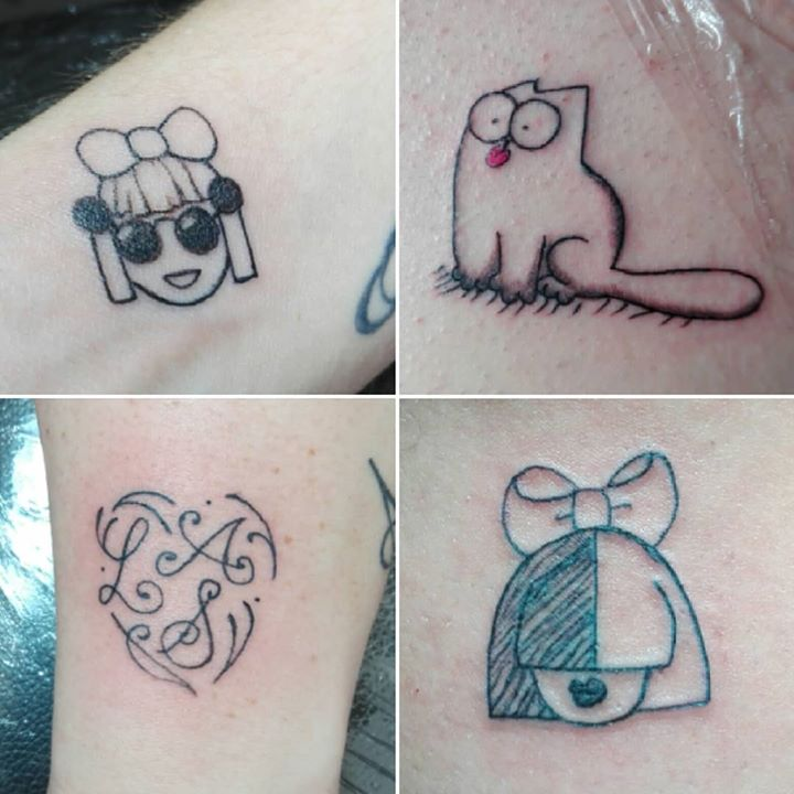 Mini tattoo …